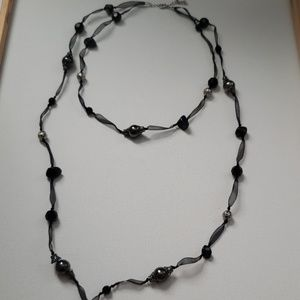 Adjustable Double Layered Necklace